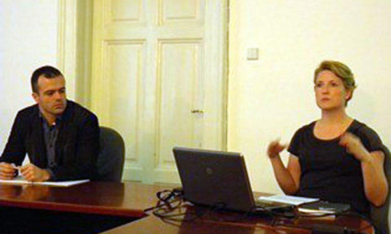 Lecture about cultural tourism